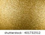 golden glitter texture... | Shutterstock . vector #401732512