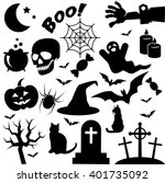Halloween Icon Isolated On...