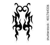 tattoo tribal vector designs.... | Shutterstock .eps vector #401764336