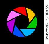 camera shutter icon | Shutterstock .eps vector #401801722