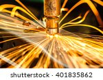 industrial welding automotive... | Shutterstock . vector #401835862