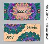 gift voucher for clothing store ...   Shutterstock .eps vector #401845402
