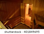 bright and hot interior of... | Shutterstock . vector #401849695