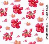 seamless flowers pattern. | Shutterstock . vector #401855836