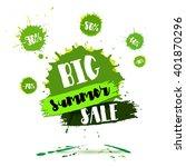 summer sale badge  label ... | Shutterstock .eps vector #401870296