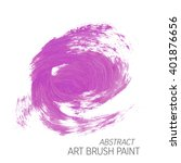 original grunge brush art paint ... | Shutterstock .eps vector #401876656