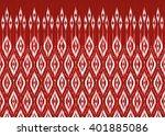 geometric ethnic oriental ikat... | Shutterstock .eps vector #401885086
