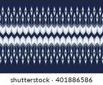 geometric ethnic oriental ikat... | Shutterstock .eps vector #401886586