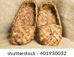 souvenir shoe son the texture... | Shutterstock . vector #401930032