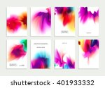 set of templates with... | Shutterstock .eps vector #401933332