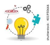 solution icon design   vector...   Shutterstock .eps vector #401950666