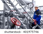 The Oil Refinery  The Worker I...
