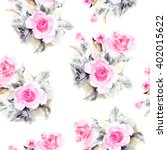 seamless floral pattern.... | Shutterstock . vector #402015622