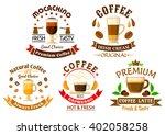 natural espresso coffee ...   Shutterstock .eps vector #402058258