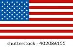 flag of united states of...   Shutterstock .eps vector #402086155