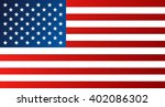 flag of united states of... | Shutterstock .eps vector #402086302