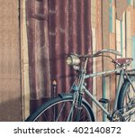 Part Of Old Classic Bicycle...