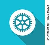 vector illustration of gear icon   Shutterstock .eps vector #402150325