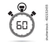60 second timer | Shutterstock .eps vector #402152455