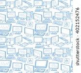 computer technology seamless... | Shutterstock .eps vector #402152476