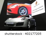 bangkok   march 31   porsche...   Shutterstock . vector #402177205
