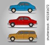 vector illustration of three... | Shutterstock .eps vector #402181672