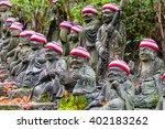 Japan   Ksitigarbha Statues In...