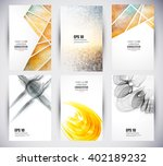web and mobile interface... | Shutterstock .eps vector #402189232
