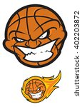 basketball ball mascot | Shutterstock .eps vector #402203872