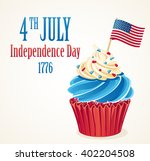 independence day 4 th july... | Shutterstock .eps vector #402204508