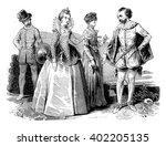 Costumes Elizabethan  1565 156...