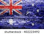 australia flag | Shutterstock . vector #402223492
