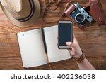 planing vacation    Shutterstock . vector #402236038