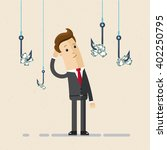 a businessman or manager...   Shutterstock .eps vector #402250795