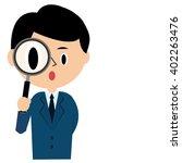 a businessman tried it...   Shutterstock .eps vector #402263476