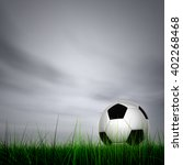 3d illustration concept soccer...   Shutterstock . vector #402268468