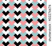 geometric pattern  chevron... | Shutterstock .eps vector #402276676