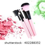 professional make up brush with ... | Shutterstock . vector #402288352