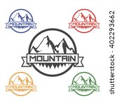 mountain logo | Shutterstock .eps vector #402293662