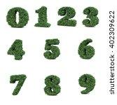 3d Rendering Of Buxus Number