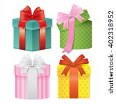 present icons | Shutterstock .eps vector #402318952