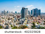 Cityscape Of Old Buildings And...