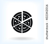 pizza icon | Shutterstock .eps vector #402342016