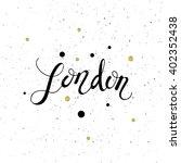 conceptual hand drawn phrase... | Shutterstock .eps vector #402352438