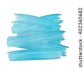 blue silver foil glitter brush... | Shutterstock .eps vector #402360682