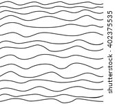 abstract waved lines vector... | Shutterstock .eps vector #402375535