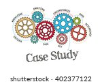 gears and case study mechanism | Shutterstock .eps vector #402377122