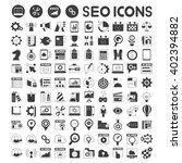 seo  search engine optimization ... | Shutterstock .eps vector #402394882