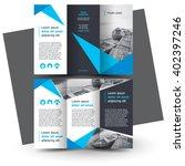 Brochure design, brochure template, creative tri-fold, trend brochure | Shutterstock vector #402397246