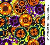 mechanical seamless pattern... | Shutterstock .eps vector #402398872